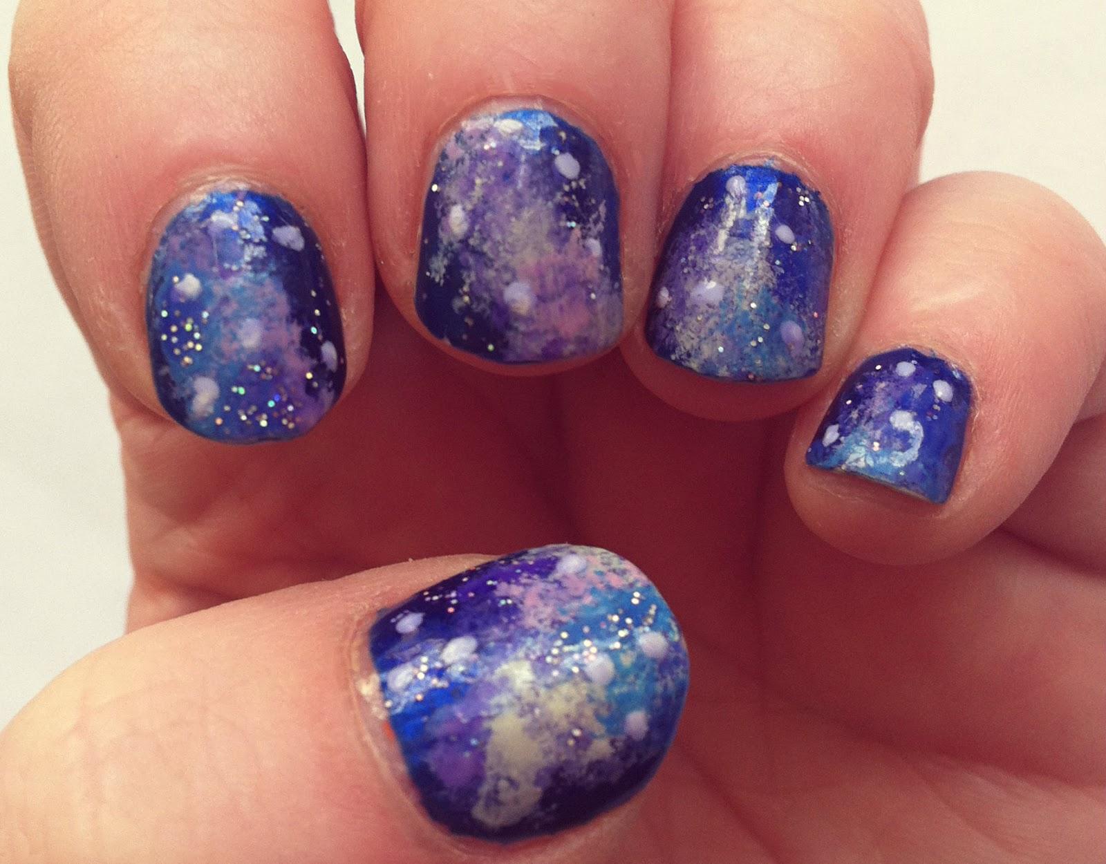 Ever So Juliet   UK Lifestyle, Beauty & Baking blog: Galaxy nail art