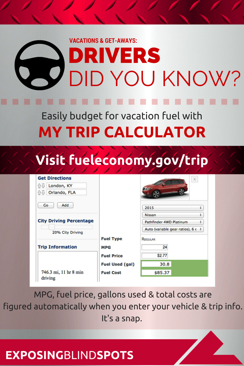 let s drive what s the best fuel cost calculator