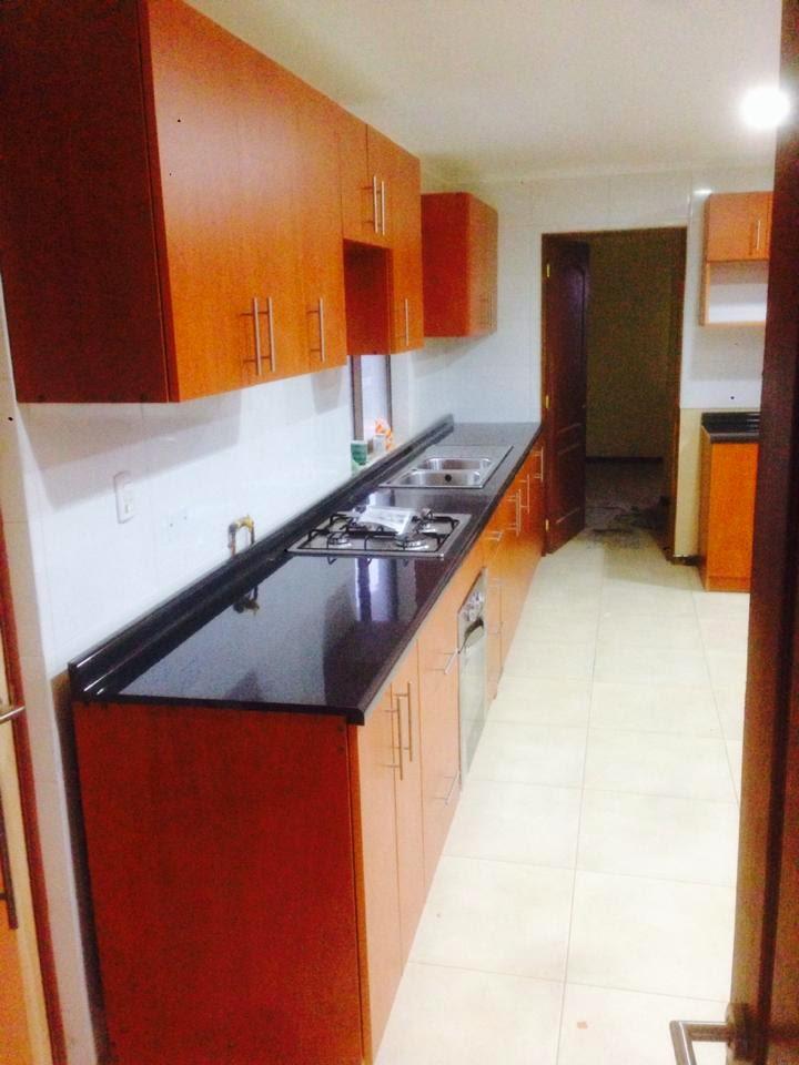 Centro de proyectos a medida cocina color peral for Combinacion de pisos ceramicos
