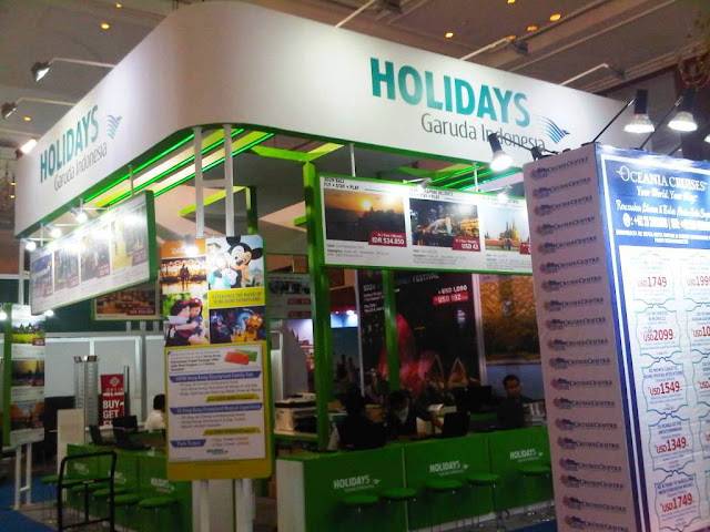 Garuda Indonesia Holidays @ GATF, JCC 3- 5 April 2015