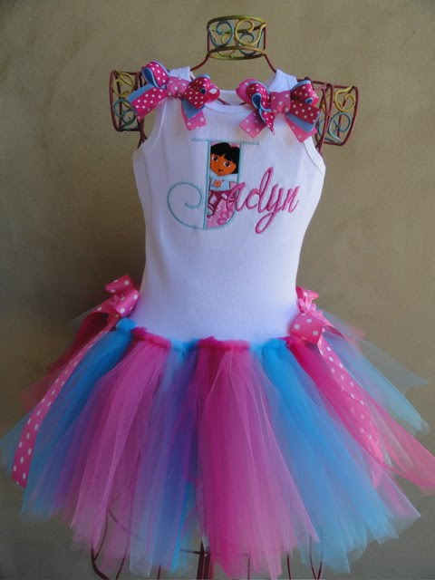 Posh Baby Couture: Dora the Explorer Tutu Dress