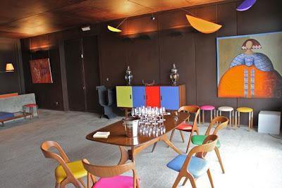 Sala de cata  Bodegas Belondrade. Blog Esteban Capdevila