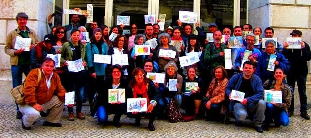 http://urbansketchers-portugal.blogspot.pt/search/label/Encontro%2075