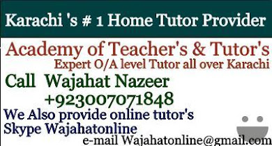 online tutors in karachi