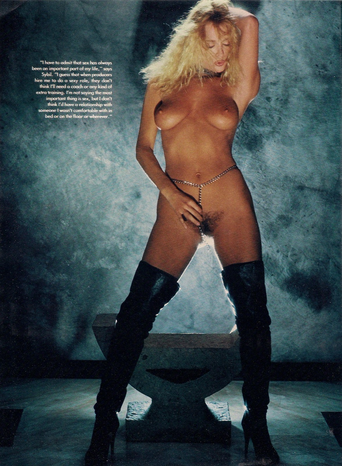 The XXX-Factor: Sybil Danning in Playboy, August 1983