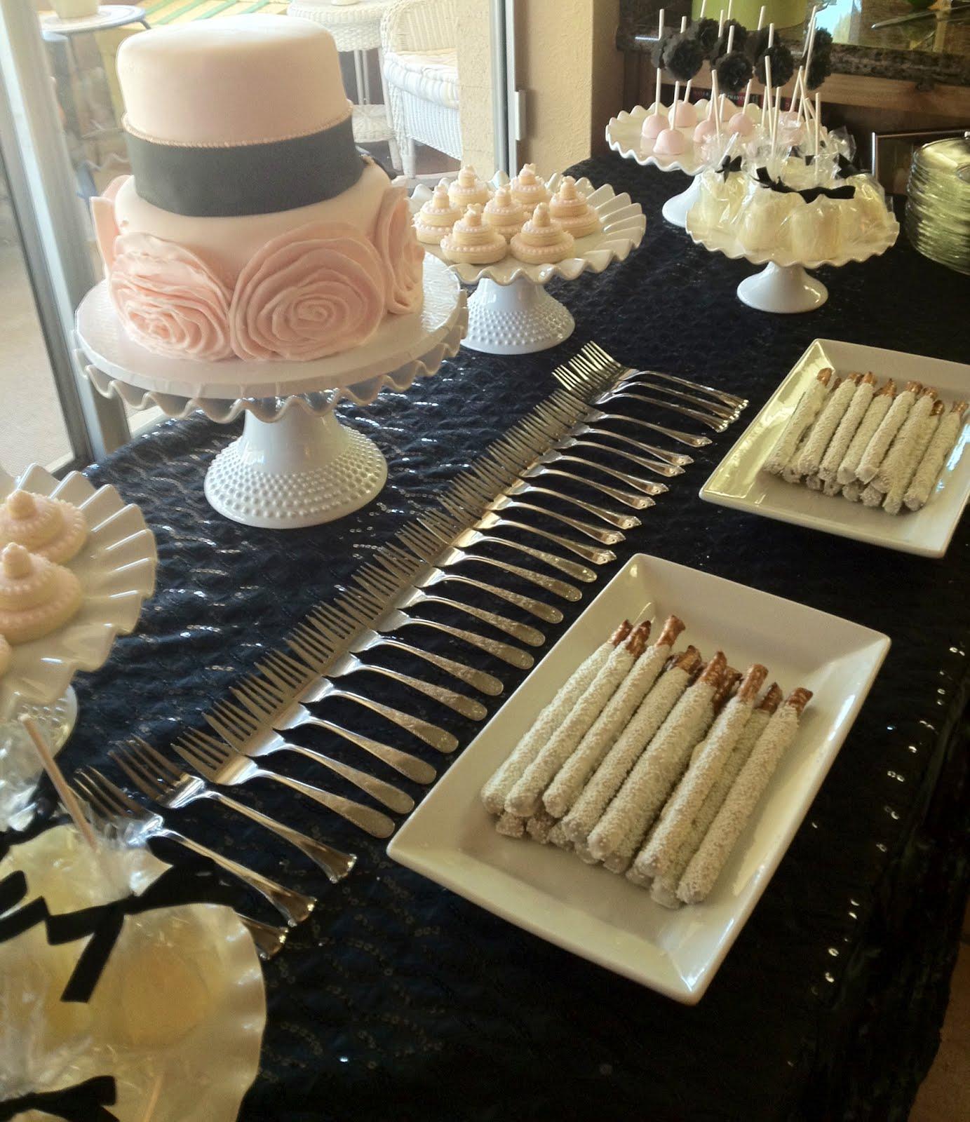 Wedding Dessert Ideas: Susan Crabtree: Bridal Shower Dessert Table