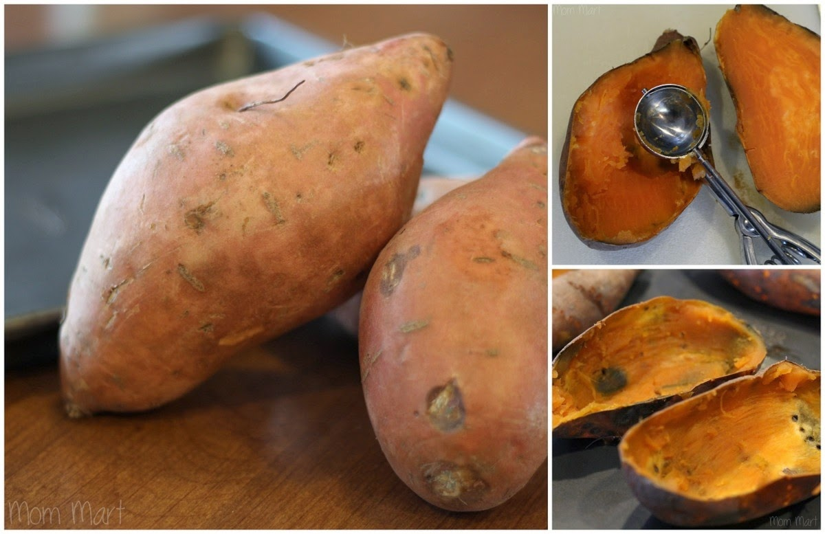 Twice Baked Sweet Potatoes  #Recipe #Tutorial #Foodie #YUM