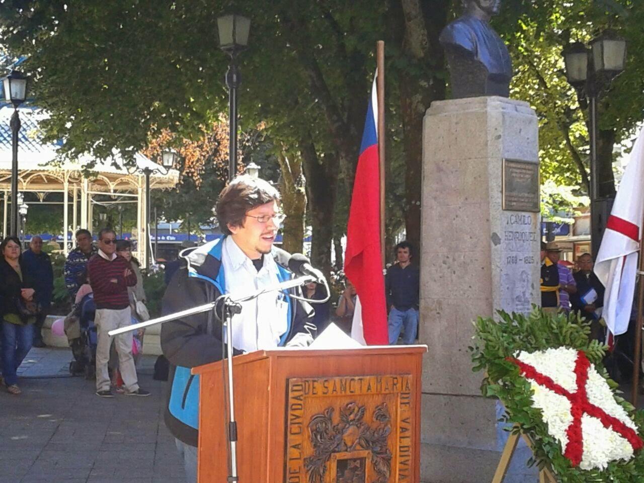 Discurso Patricio Segura Ortiz, 2º Vicepresidente Colegio de Periodistas durante conmemoración de Día de la Prensa en Valdivia