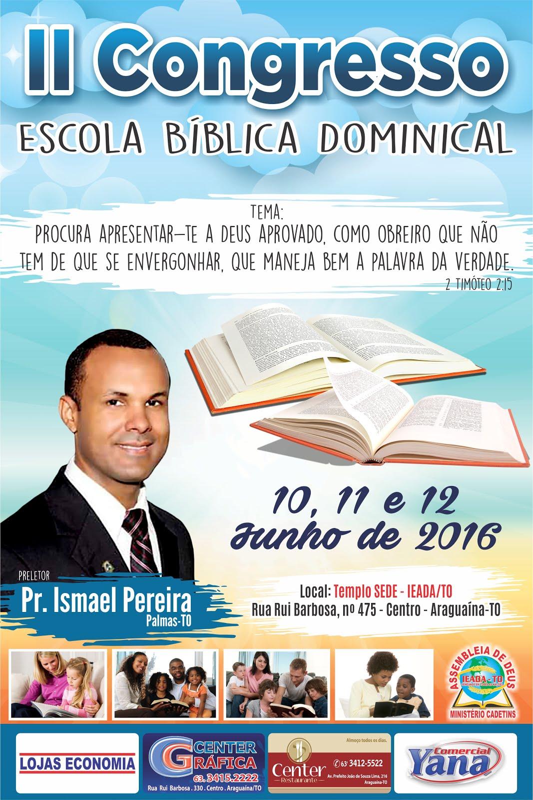 II CONGRESSO DA EBD - Araguaína-TO