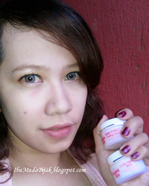 Review Bangkok Face Lotus Sparkling Mask & Gem Fruit Pudding Cream