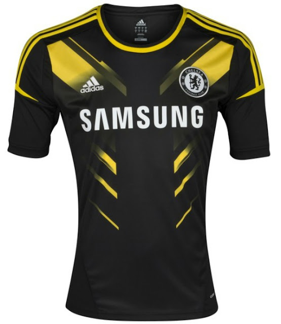 Equipación / uniforme / camiseta Chelsea 2012-2013 alternativa