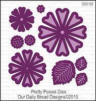 ODBD Custom Pretty Posies Dies