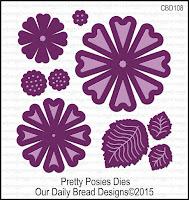 ODBD Custom Pretty Posies Dies