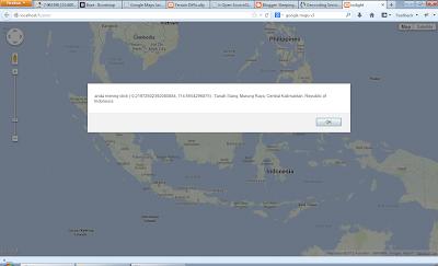 event google maps