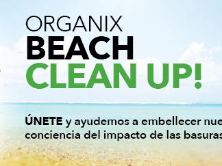 "Campaña ""Clean Beach Up"" de Organix"