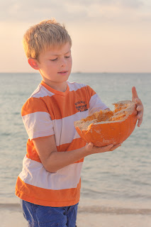 Shannon Hager Photography, Pumpkins on the Beach, Okinawa, Children's Portraits