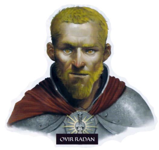 Les personnages Ovir_Radan
