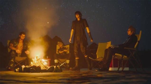Final Fantasy XV Campamento 2