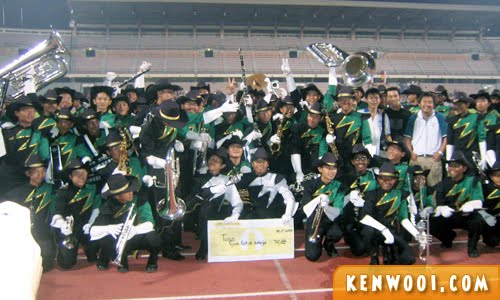 marching band winner