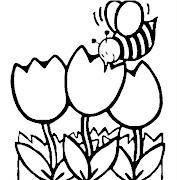 dibujos para colorear dibujos para colorear de la primavera crop