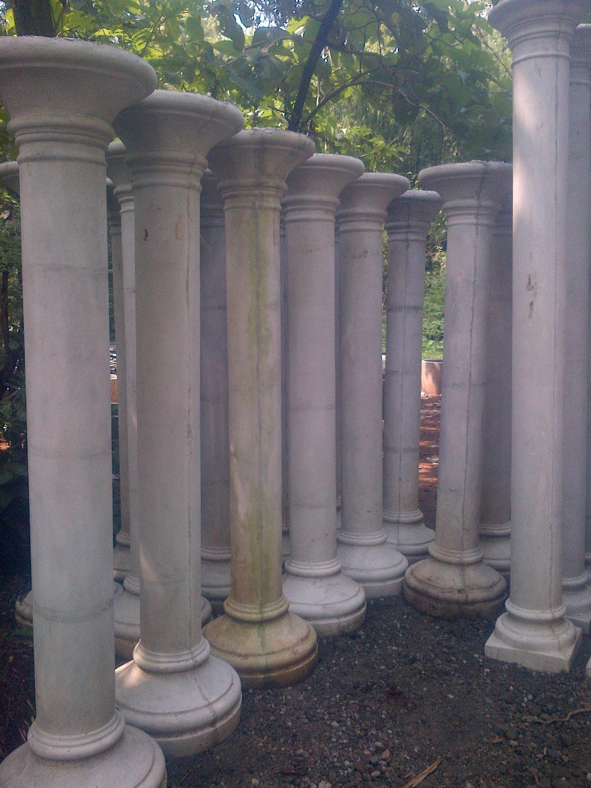 sanjaya profil beton pilar blombong tiang teras rumah