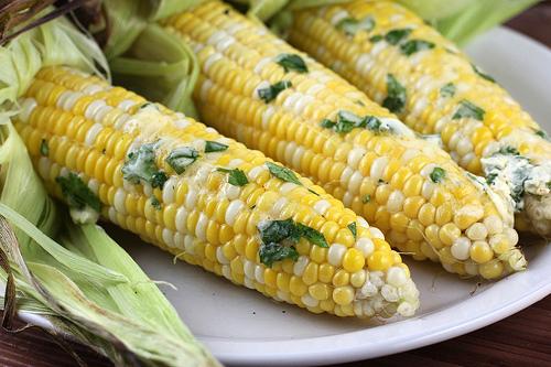 ... Caesar Sandwiches, Grilled Corn on the Cob, & Peach Cobbler Bars