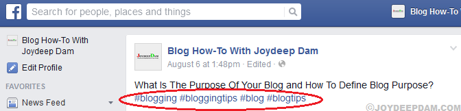 promote-your-blog-post-in-facebook-using-relevant-hashtag
