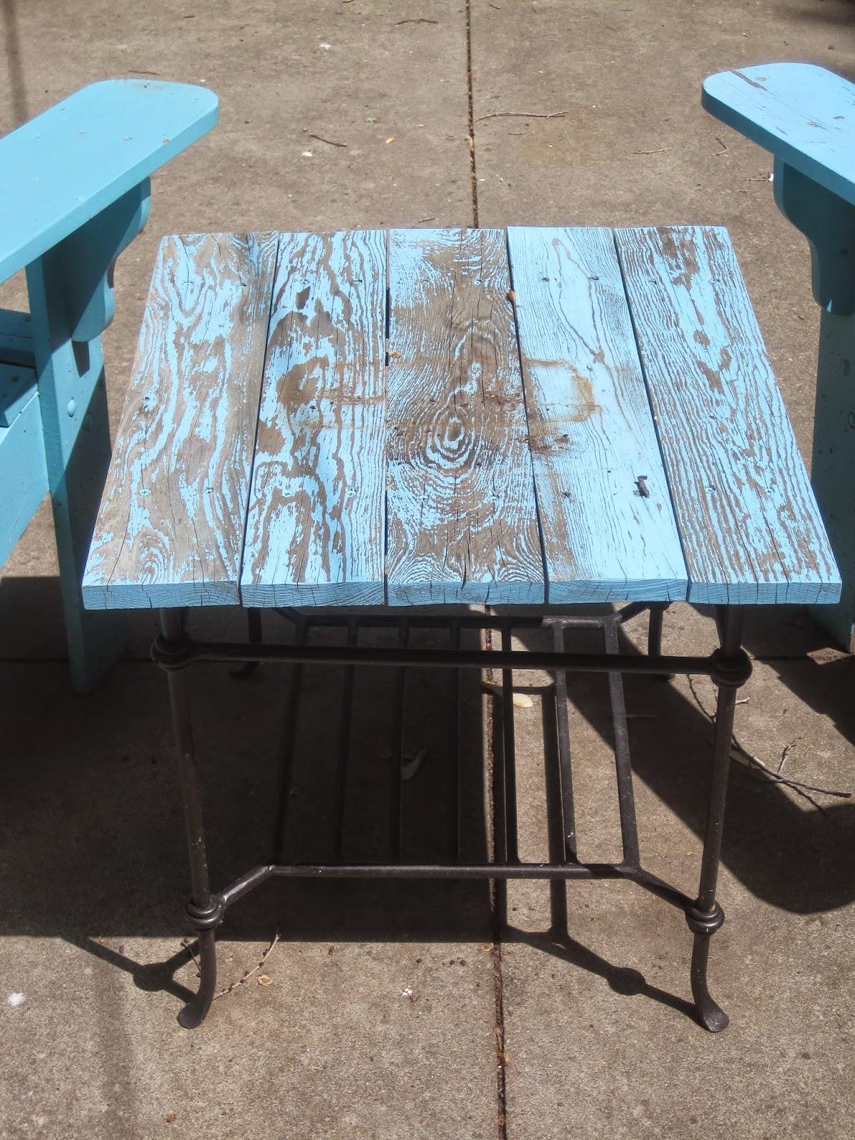 Turquoise Adirondack Chairs