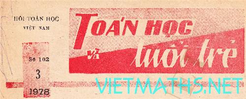 tap chi toan hoc tuoi tre 1978 va 1979, thtt nam 1978 va 1979
