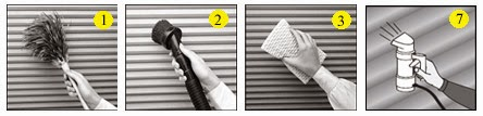 how to clean blinds, cleaning blinds,best way to clean blinds
