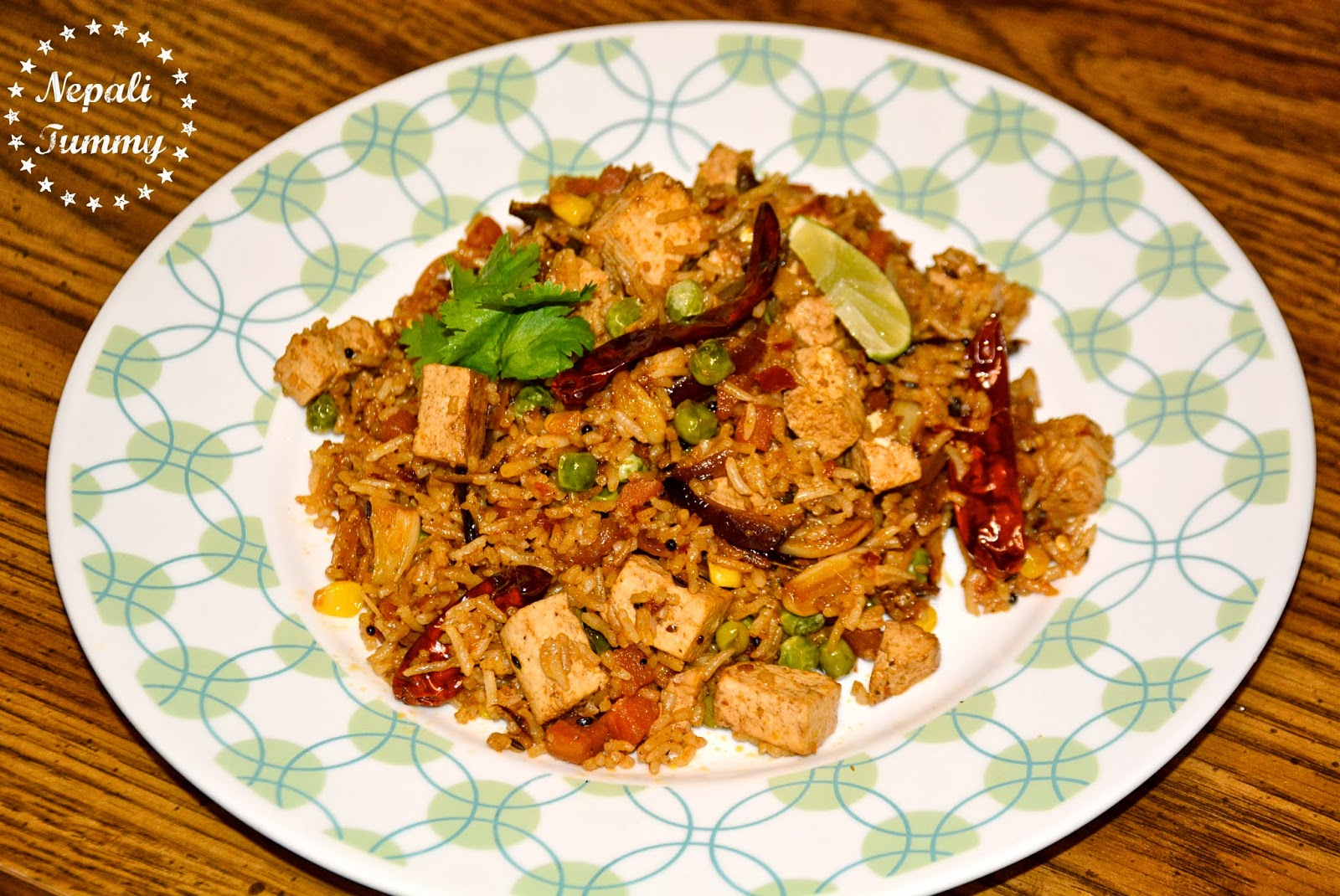 Nepali tummy vegetarian nepali style tofu fried rice recipe here you go guys below is the step by step process to make nepali style tofu fried rice forumfinder Image collections