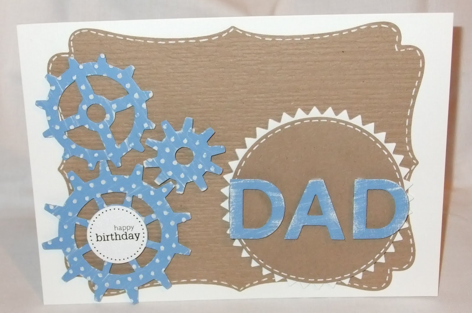 A Day In The Life Of A Craft Fairy Birthday Card Idea Dad