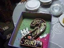 birthday kek suri - 2 tahun