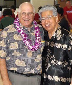 Rep. Souki and Sen. Akaka