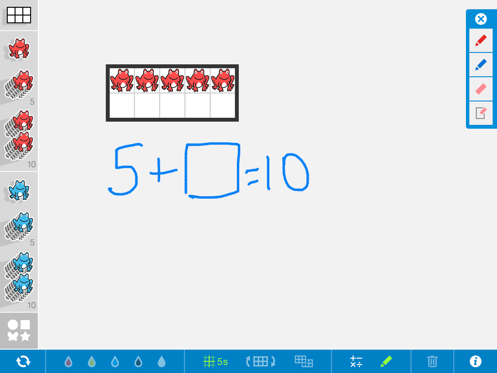 Number Frames App ~ Engaging Tech Tools for 21st Century Learners