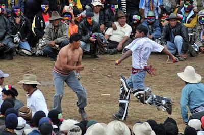 Takanakuy- The Fighting Festival of Peru