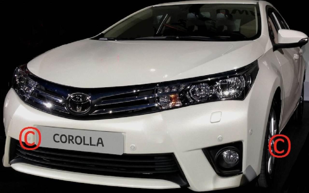 2014 بشكلها الجديد كلياً Toyota Corolla 2014