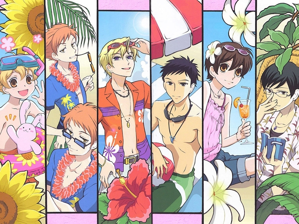 Anime School Book Cover : Marilyn ouran koukou host club