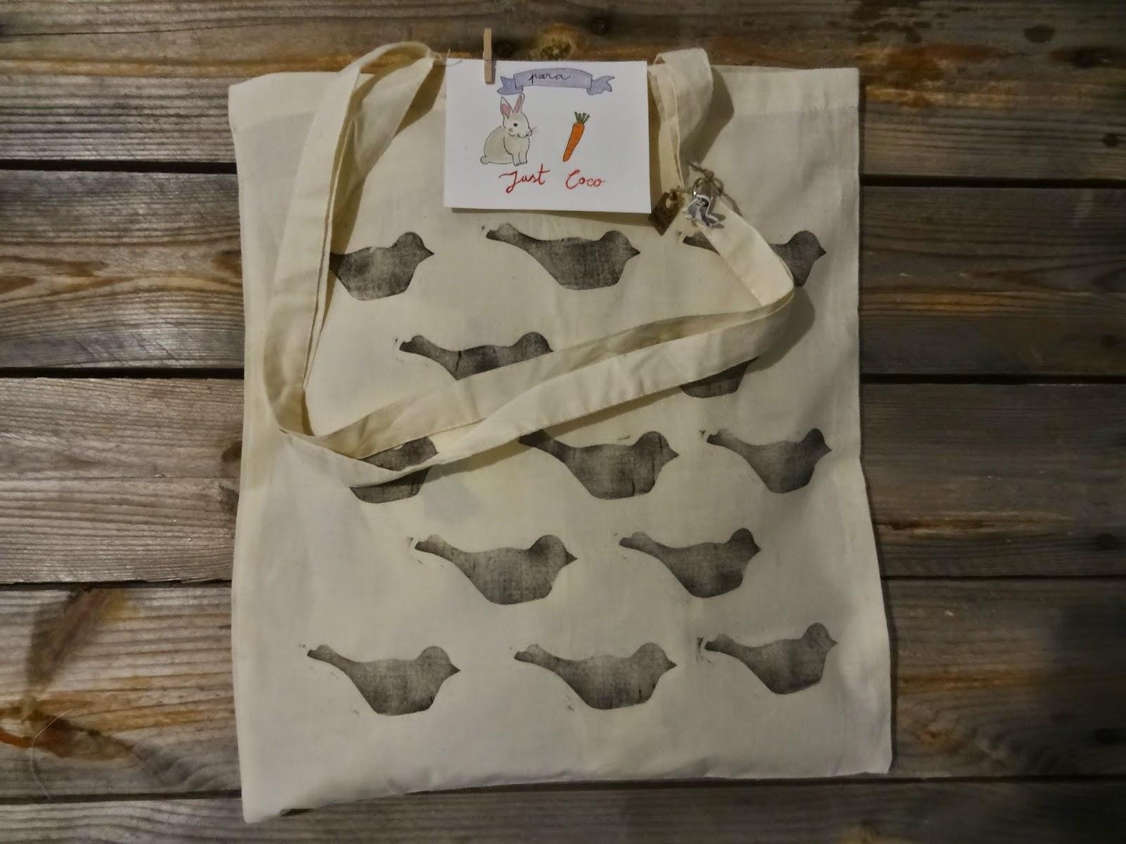 bird bag bolsa pajaritos vintage original customized personalizable customizado