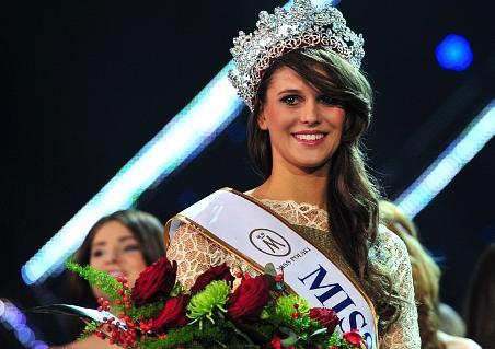 Miss Poland Polski 2012 winner Katarzyna Krzeszowska