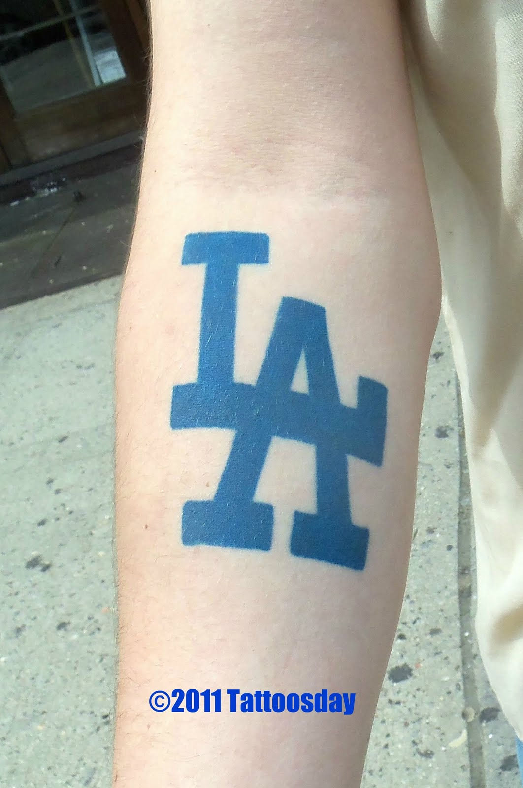 Dodgers Tattoos