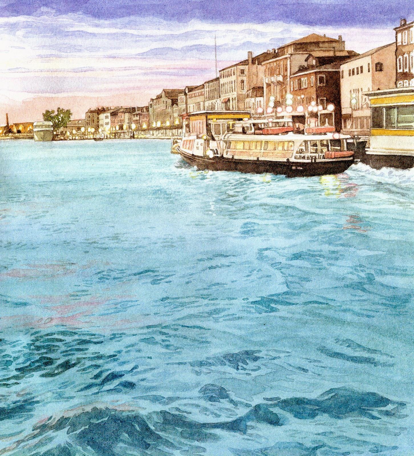 De qua e de la venezia in pittura for Modi di pittura