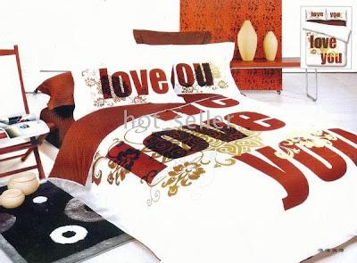 فرش غرف النوم عيد الحب 2012.