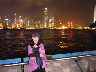 Hong Kong skyline from Hong Kong walk of stars