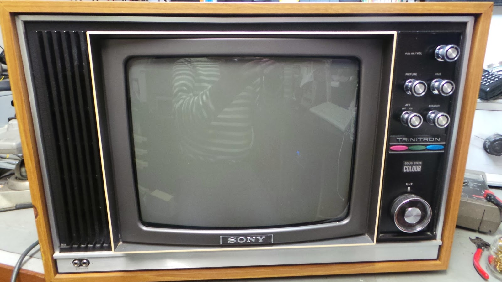 Sony KV1320 UB MKI restoration.