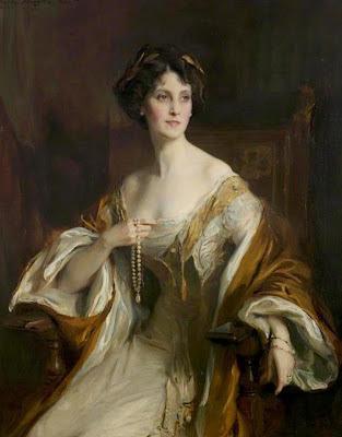 Philip de László Winifred Dallas-Yorke, Duchess of Portland one objectivist's art object of the day
