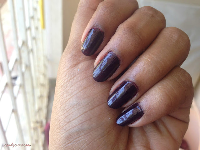 OPI Black Cherry Chutney Review and swatches