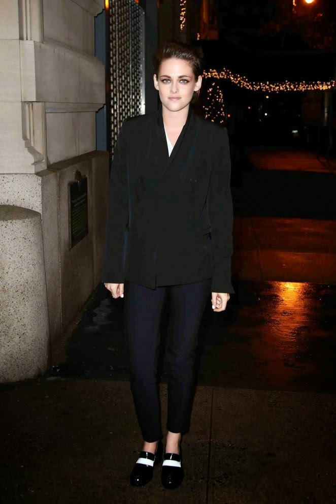 Kristen Stewart – Stella McCartney Autumn 2015 Presentation in NYC
