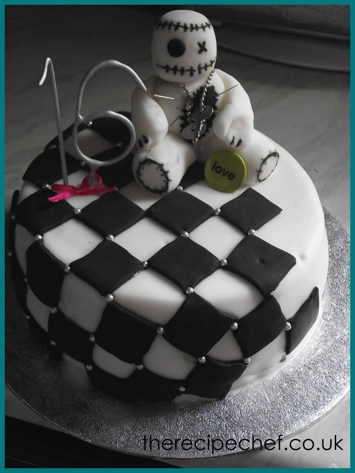 The Recipe Chefs Cakes Voodoo Emo Cake
