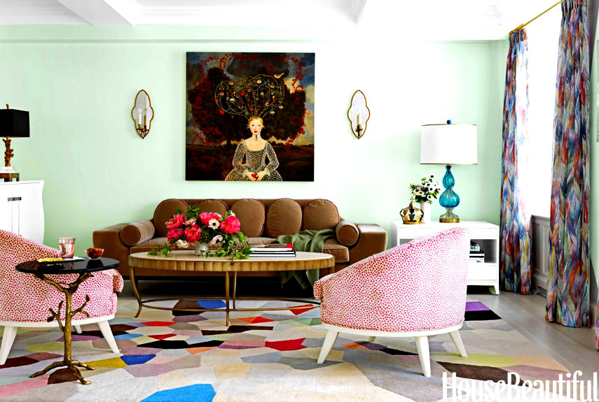 Loveisspeed a home straight out of a modern day for Colorful whimsical living room